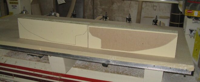 Starting to Machine RenFoam Sailboat