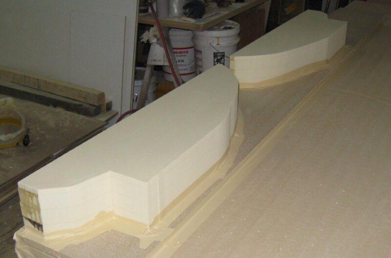 Beginning of a RenFoam Sailboat