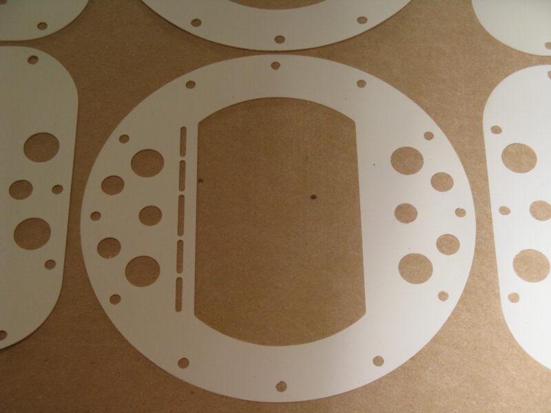 Custom Rubber Gaskets Cut on CNC
