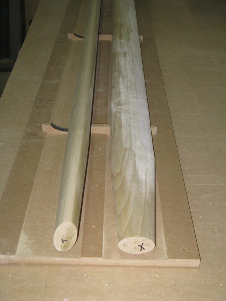 Poplar Posts for Custom Furniture Middle Section