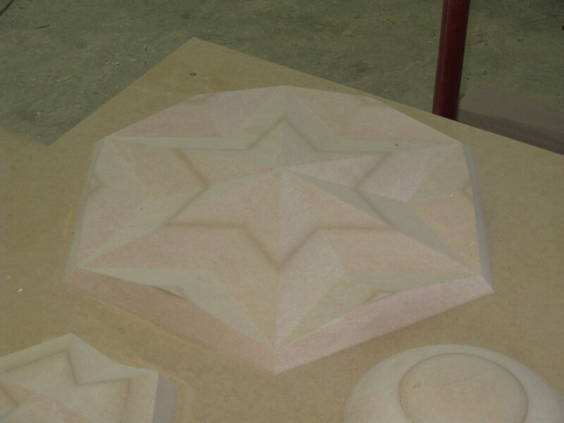Really Large MDF Shapes for Plastic Moulding