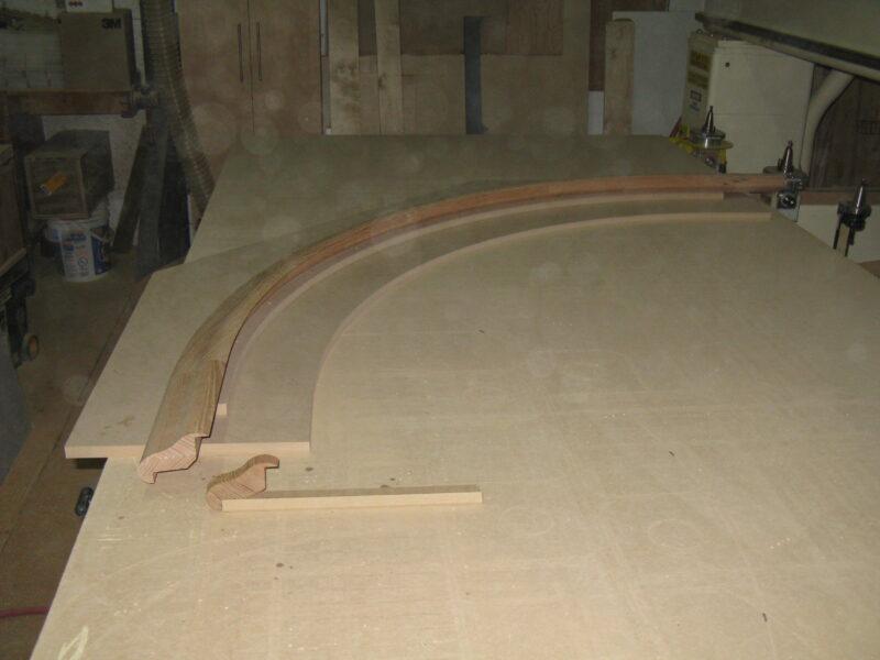 Custom Bar Rail Nosing
