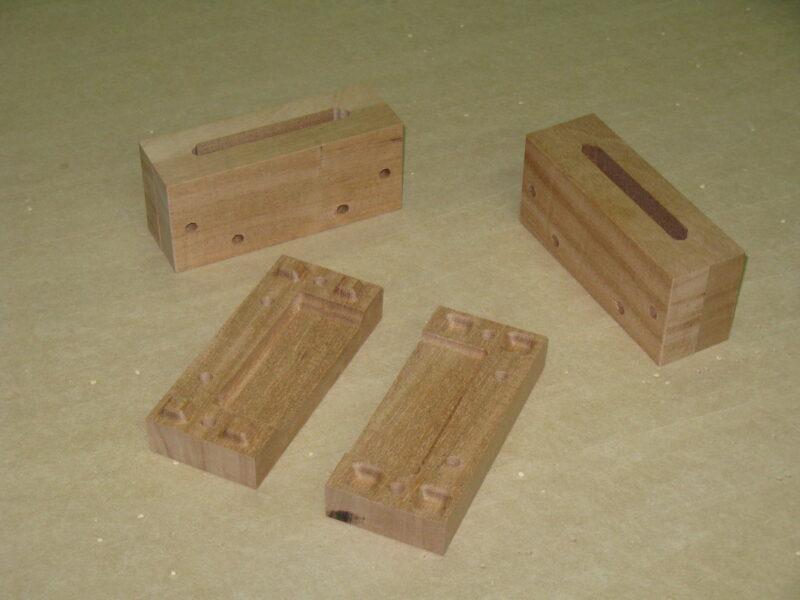 Wood Mold for Custom Handle
