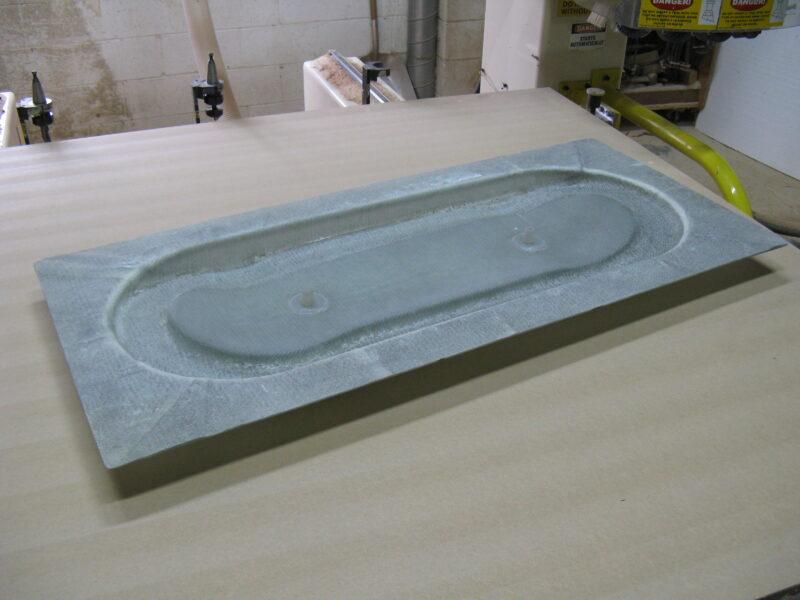Graphite Skateboard Mold