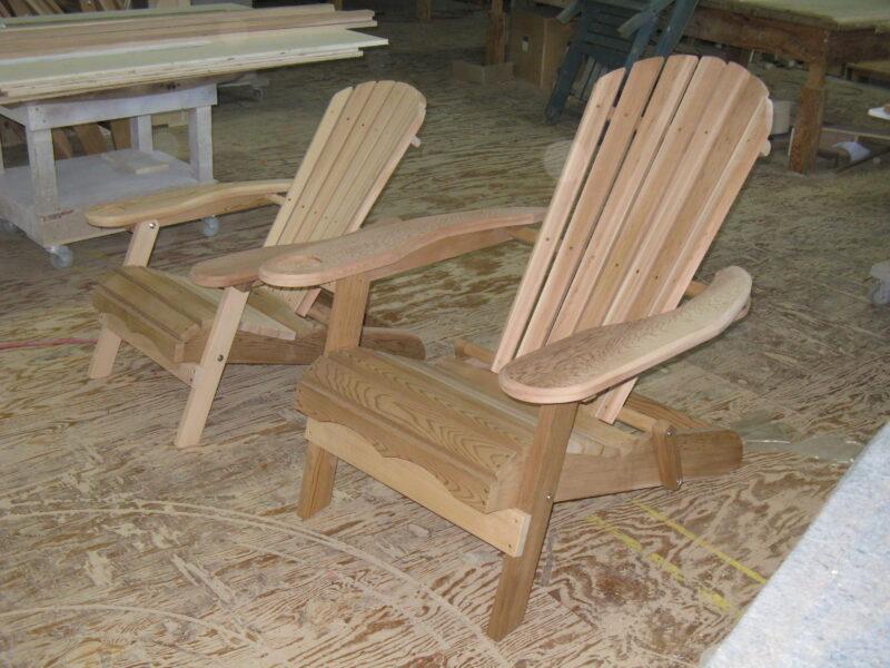 Custom Cedar Chairs