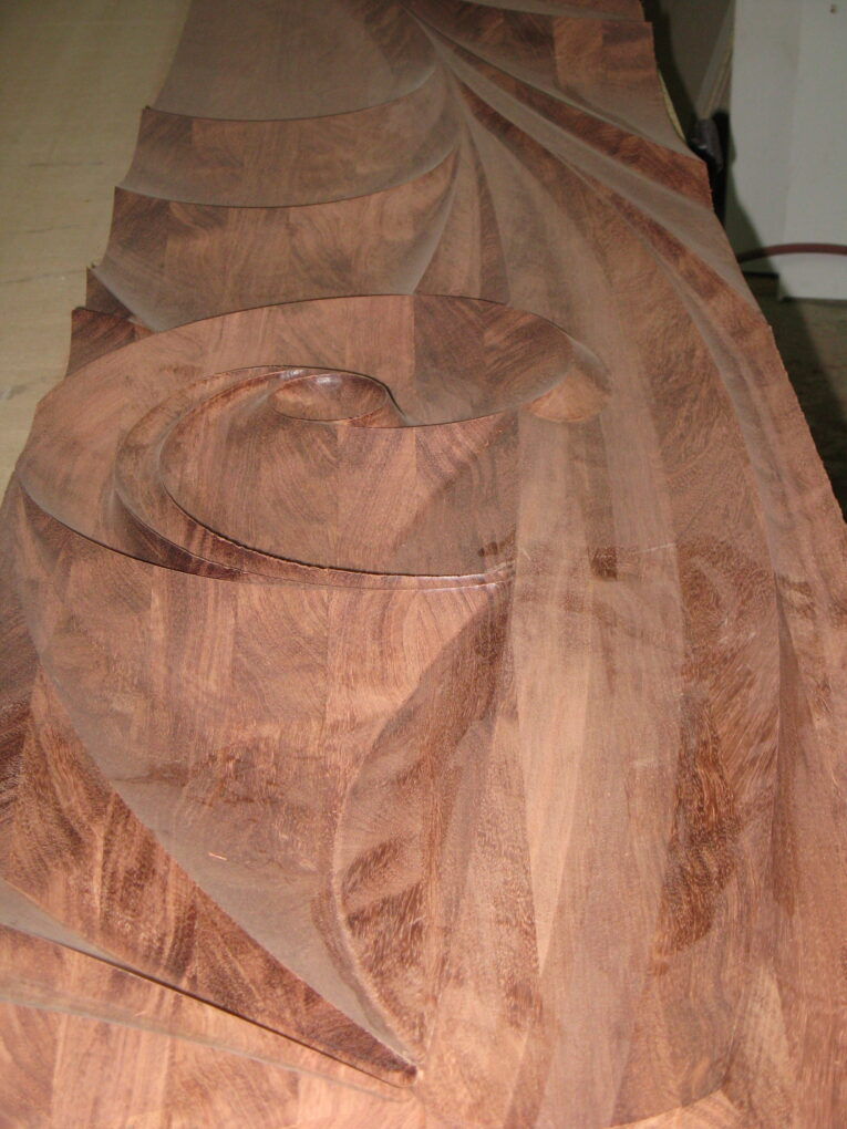 Custom Carving for a Large Furniture Piece