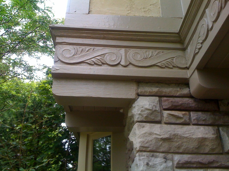 New CNC Carvings to Repair Historic Building